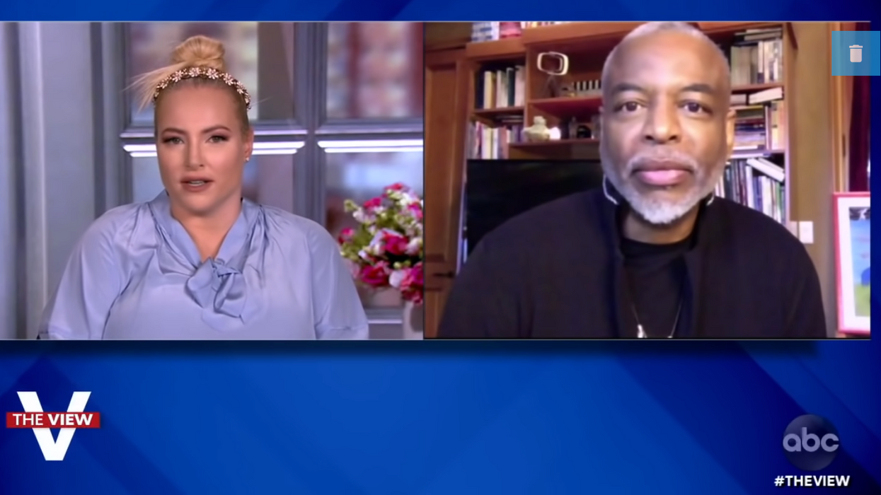 LeVar Burton schools Meghan McCain on 'The View': It's 'consequence culture' — not cancel culture