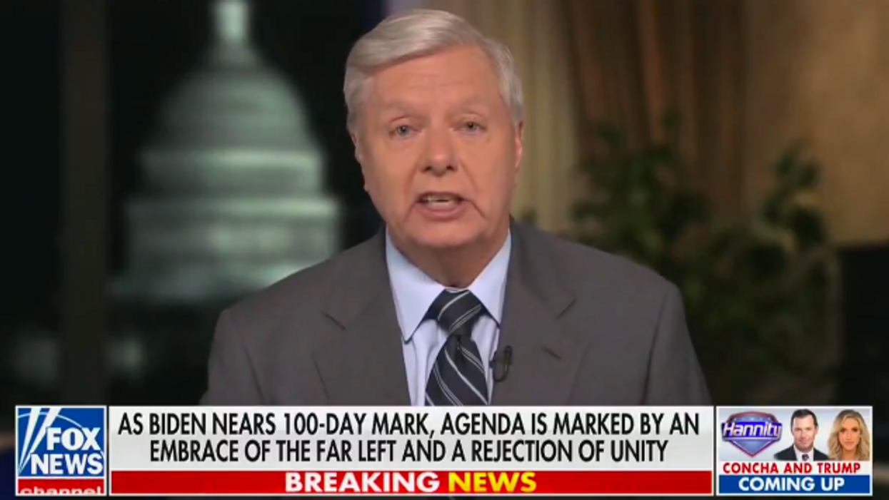 Lindsey Graham trolled after making desperate plea for campaign cash — with Trump's help