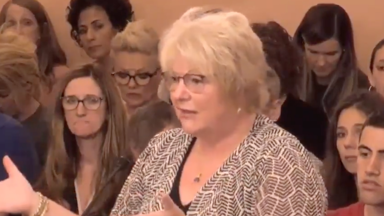 Watch: Testimony from an anti-vaxxer goes 'off the rails'
