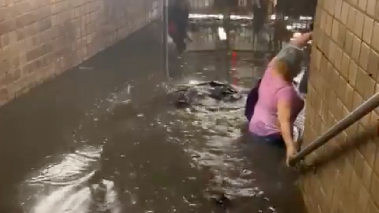 Flooded NYC subways exemplify why climate is key to infrastructure fight
