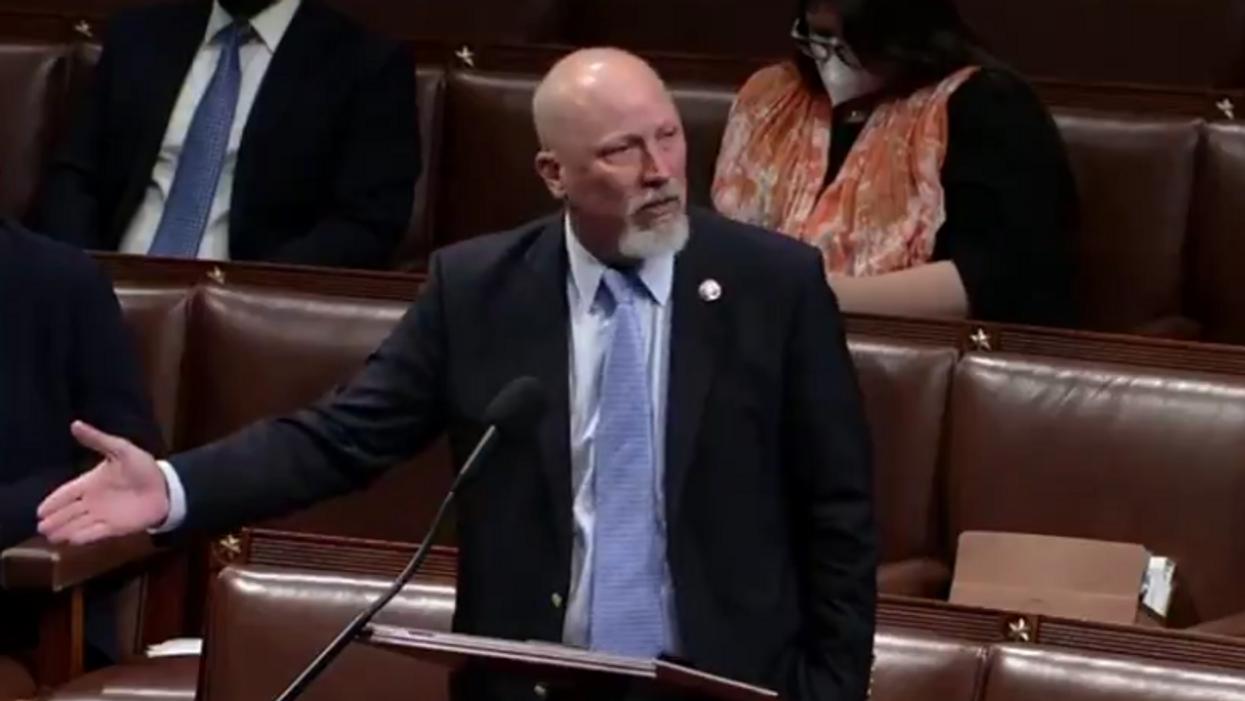 GOP congressman has meltdown over masks on House floor: 'Shut this place down!'