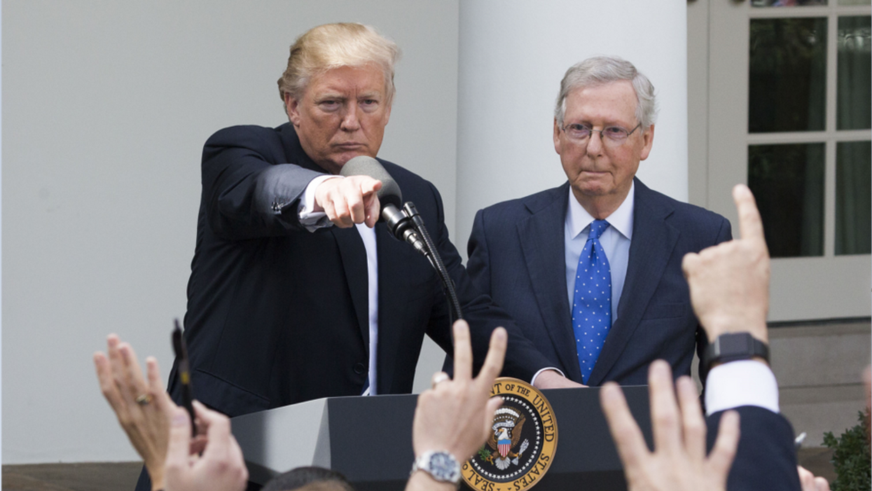 'A disgrace': Trump takes aim at McConnell over infrastructure package