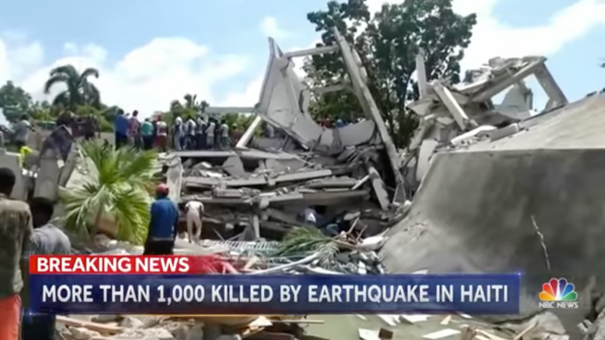Death toll following Haiti quake rises as tropical storm Grace descends on the island nation