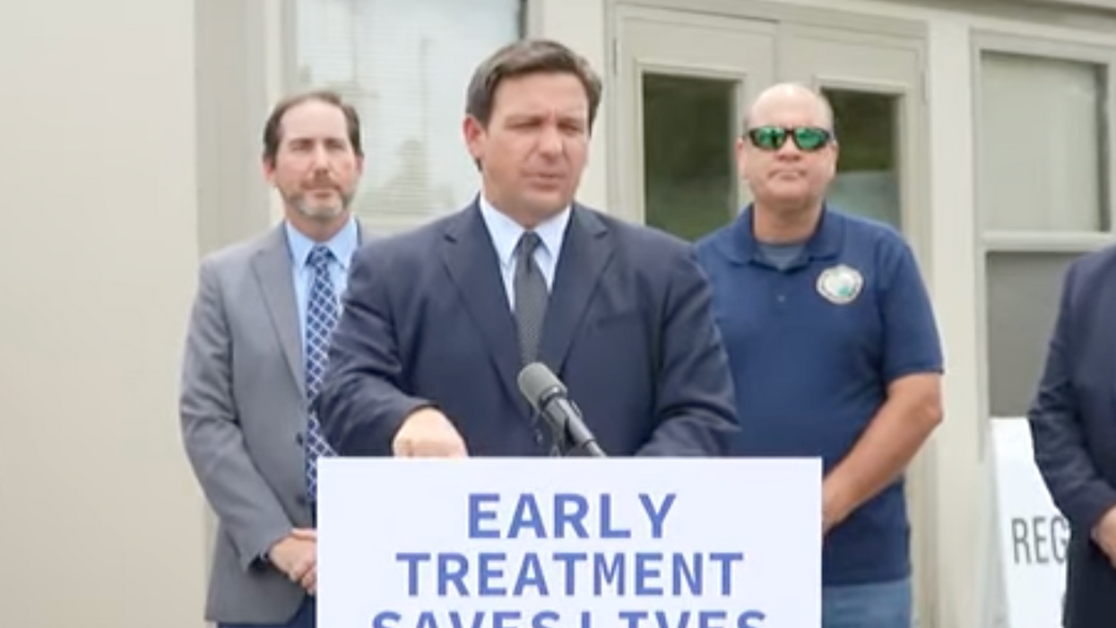 Ron DeSantis is touting Covid treatments — even as he 'downplays' vaccines: report