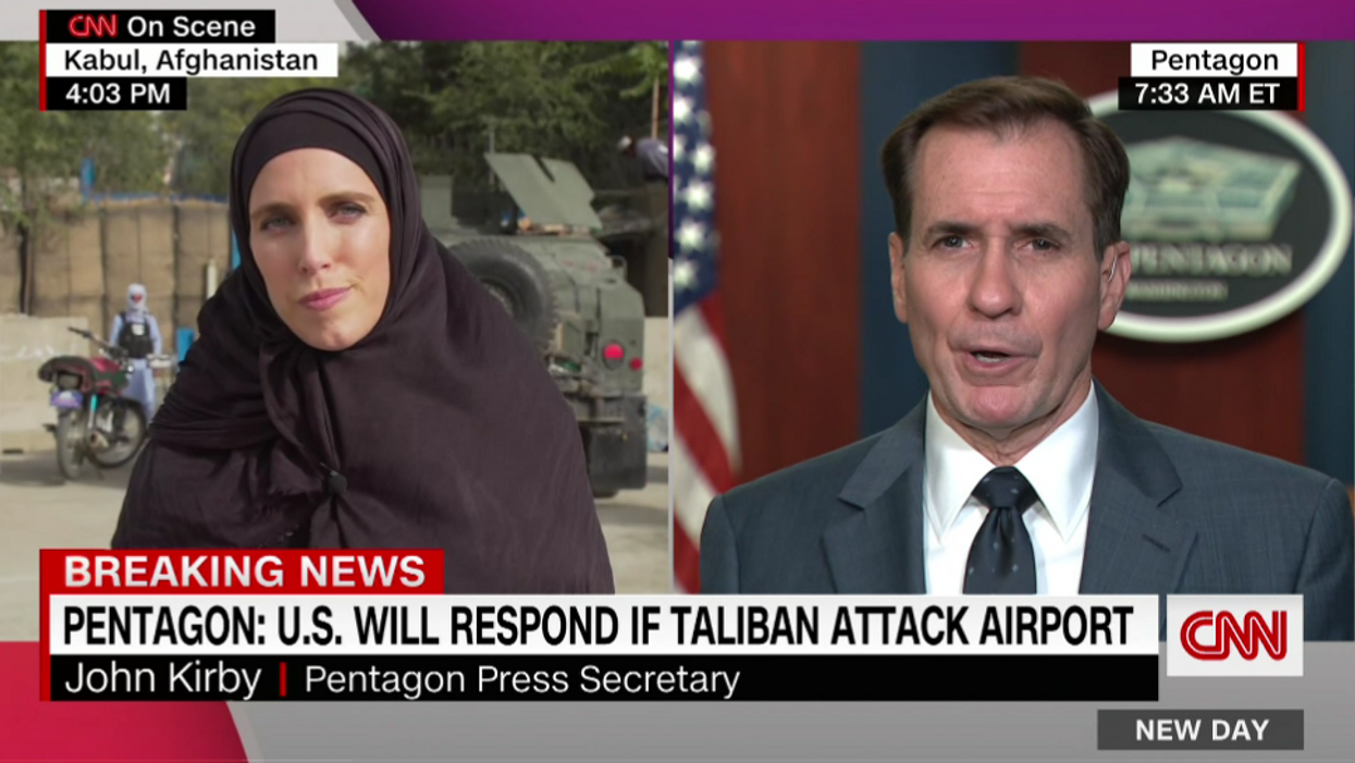 Clarissa Ward grills Pentagon press secretary about 'hallow promises' amid Afghan chaos