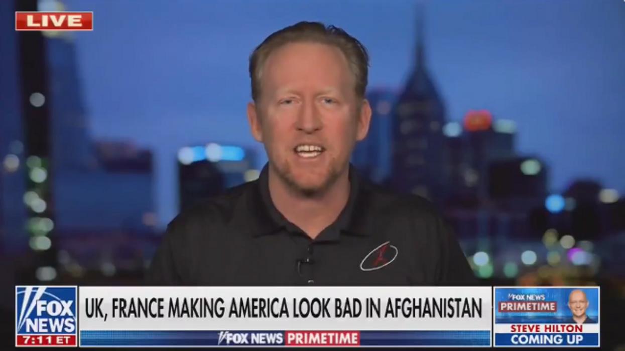Fox News contributor's Afghanistan evacuation plan: 'Walk through the streets and kill everyone I see'