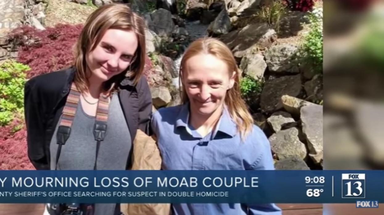 Newlyweds shot to death at Utah campground
