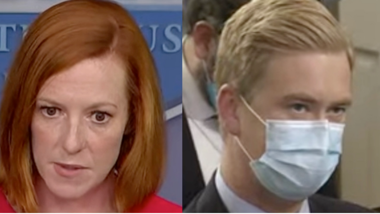 Jen Psaki replies to Peter Doocy's claim about negotiating 'with terrorists' by explaining the 'reality'