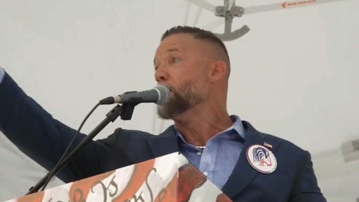 'How you get stuff done': Anti-mask GOP nominee threatens to use '20 strong men' to physically remove school boards