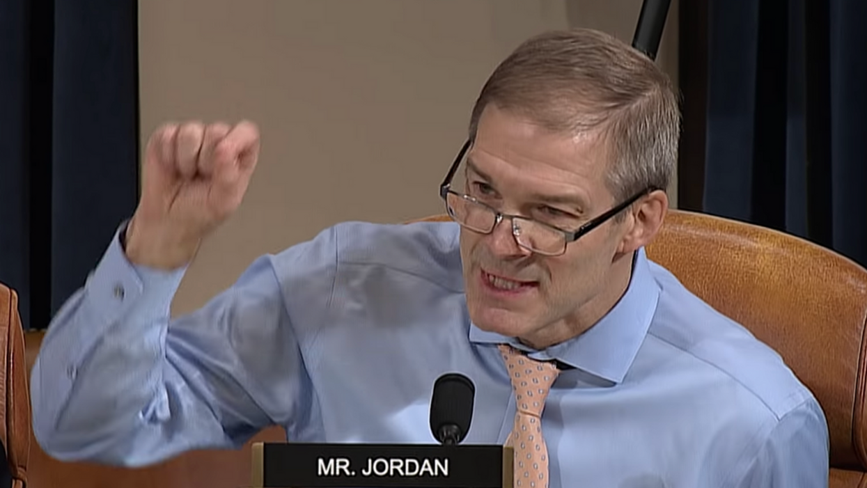 Rep. Jim Jordan accidentally shows the true face of the American fascist