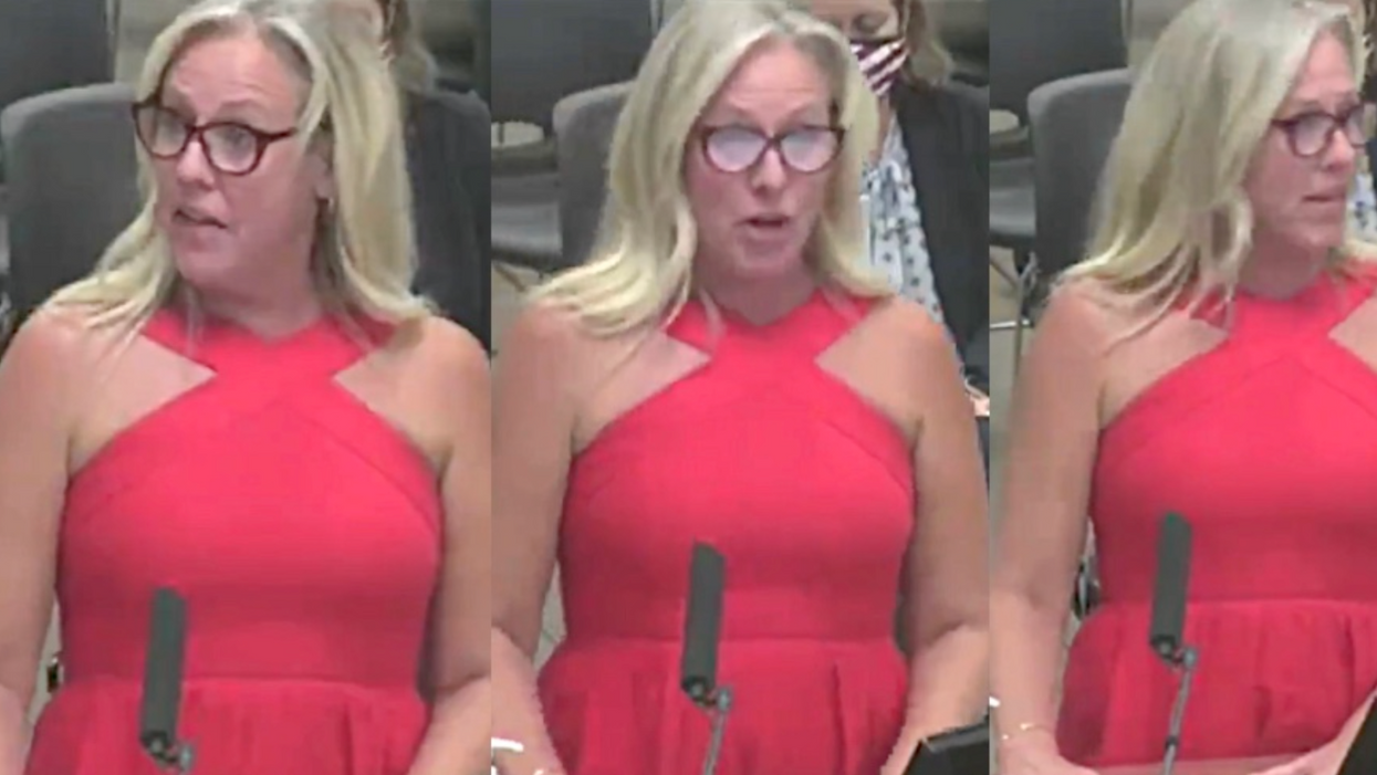 Texas 'Christian woman of God' derails school board hearing in attempt to ban a book referring to anal sex