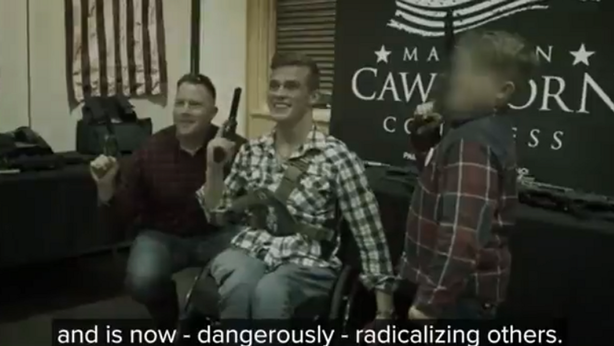 Watch: Madison Cawthorn challenger accuses him of being 'radicalized' in devastating ad that's going viral