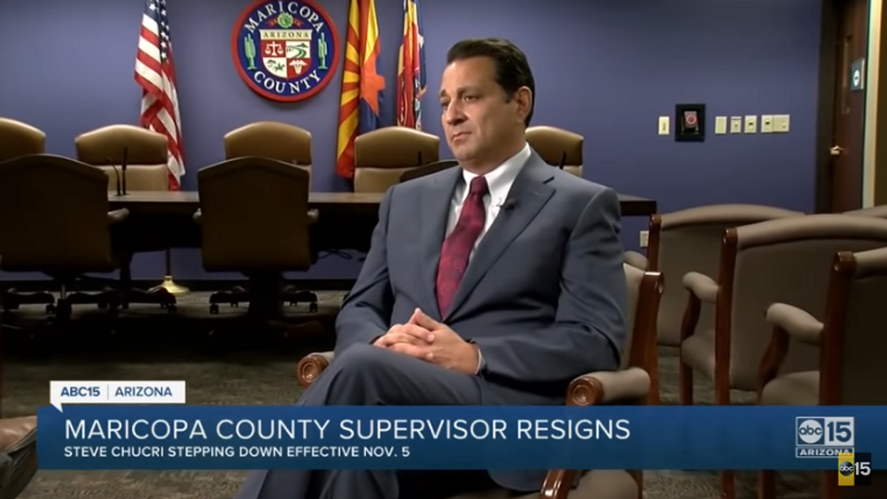 Leaked audio of 'surreptitiously' recorded meeting prompts Arizona GOP official's resignation