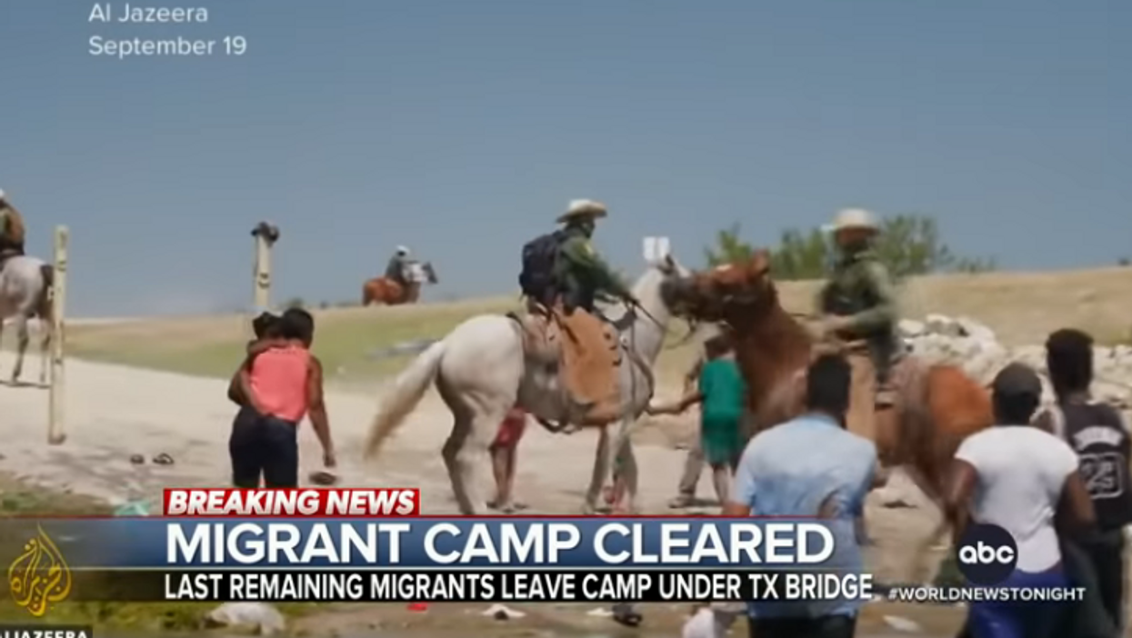 There's a disturbing history connected to the border agents on horseback chasing Haitian migrants