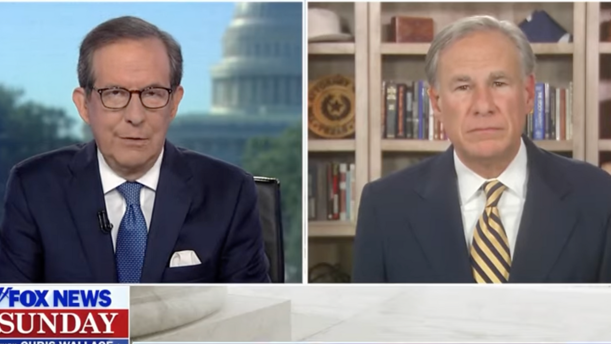 Chris Wallace grills Greg Abbott for his hollow pledge to stop rape after signing strict abortion ban