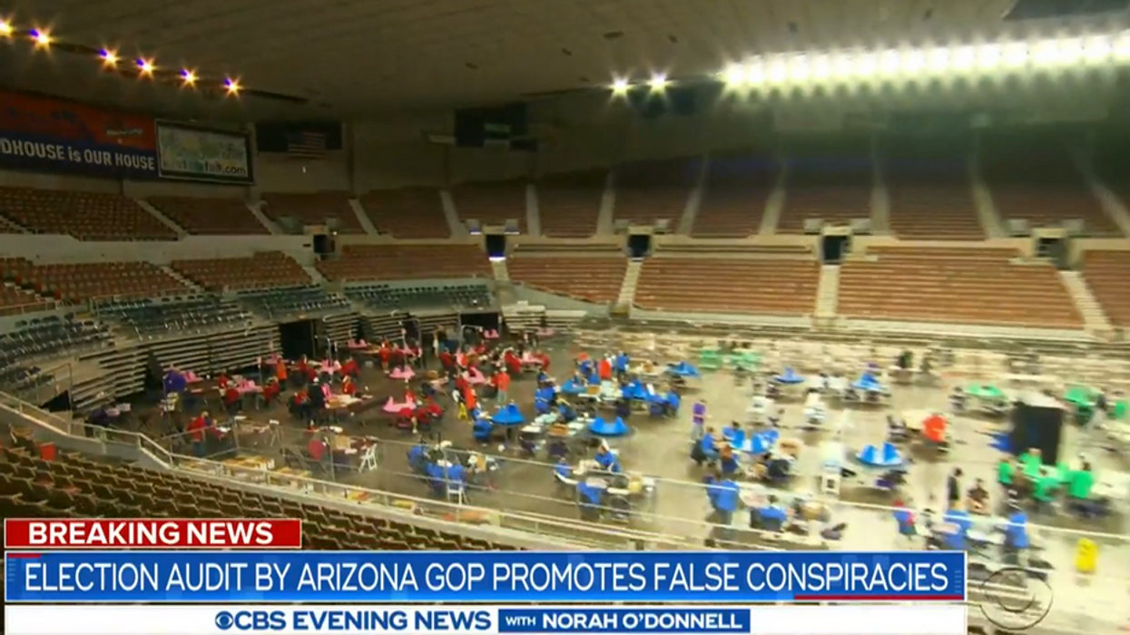 Supporters of the Arizona audit are turning against each other