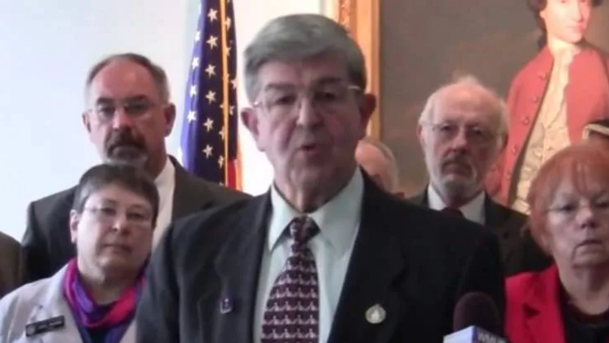 GOP lawmaker says COVID deaths are a Vatican plot — and vaccines contain 'living organisms with tentacles'