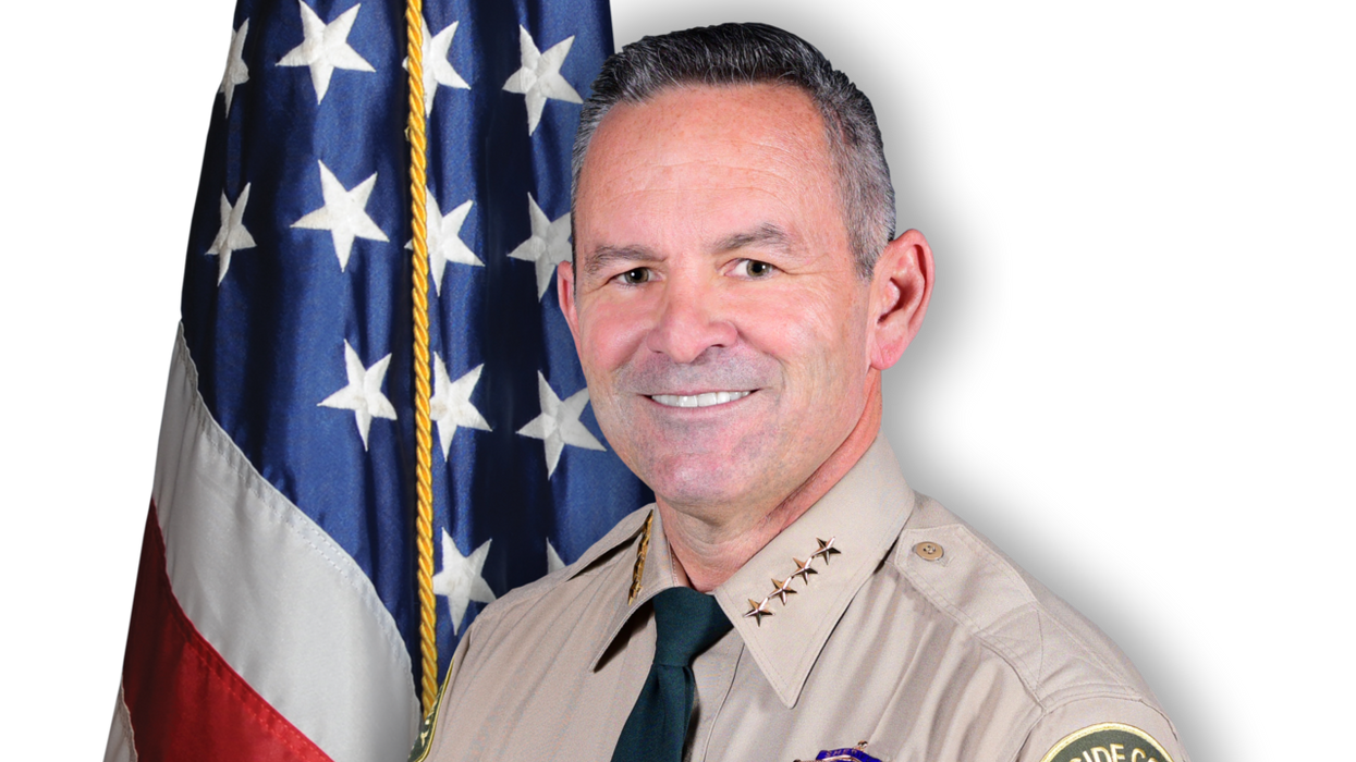 This Southern California sheriff was a 'dues-paying member' of the 'militant insurrectionist' Oath Keepers: report