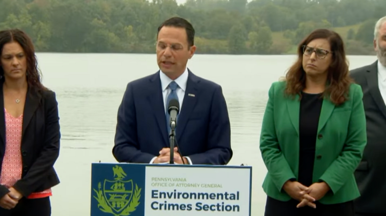 PA attorney general announces slew of environmental charges against pipeline developer