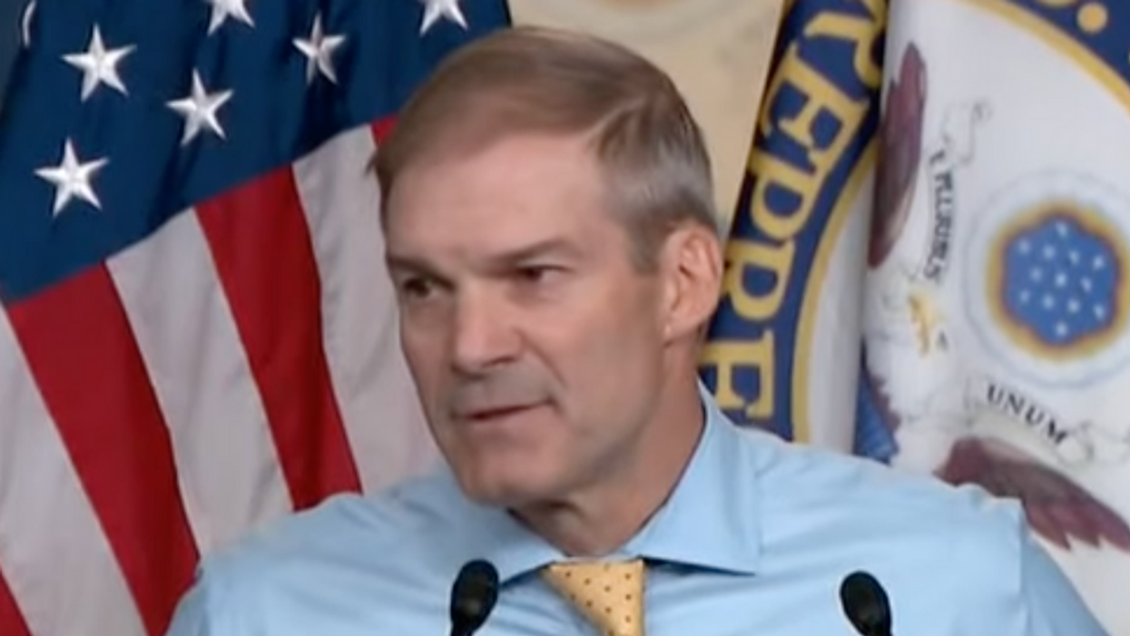 Jim Jordan rages at Dems for attacking Trump's Big Lie: They think COVID went 'from a bat to a pangolin to Joe Rogan'