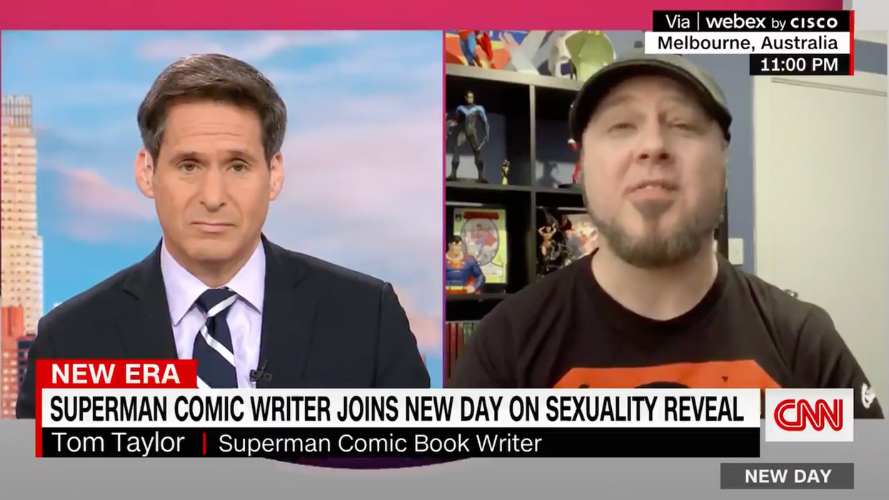 'We're going to get some backlash': Writer is defiant after right-wing outrage about bisexual Superman