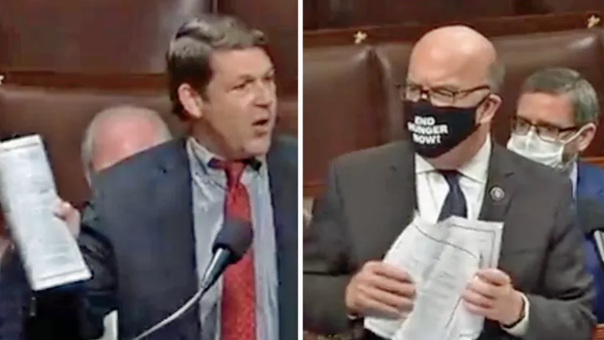 Texas Republican's stunt massively backfires after Dem colleague embarrasses him on the House floor