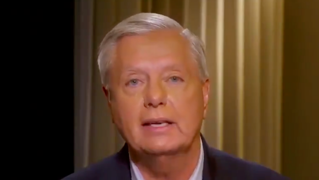Lindsey Graham goes on baffling rant about '40,000 Brazilians' with 'Gucci bags' heading for Connecticut