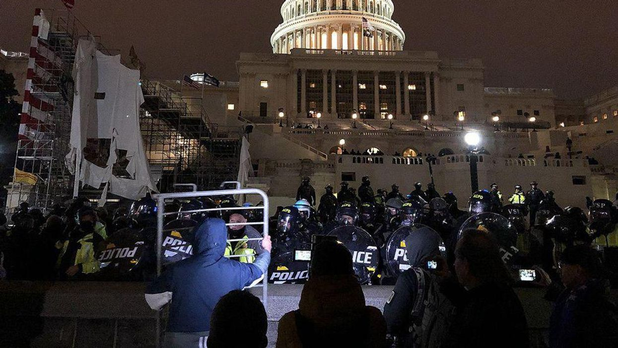Capitol Police officer reported by friend 'of 40 years' after disclosing lawmakers' secret location on Jan. 6