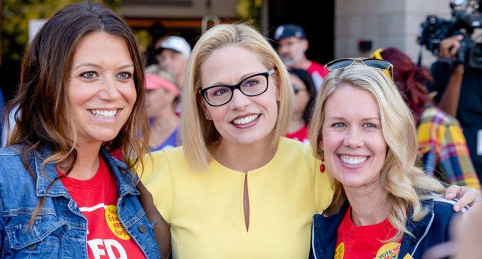 Is Kyrsten Sinema becoming the Joe Manchin of the West?