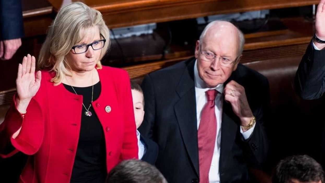 Liz Cheney blasts Dems for targeting Marjorie Taylor Greene: GOP 'not the party of QAnon' or neo-Nazis