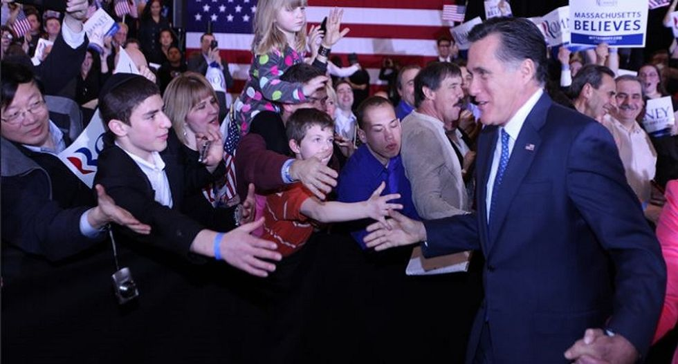 Mitt Romney may be jockeying to save the GOP's soul --  but it's way too late