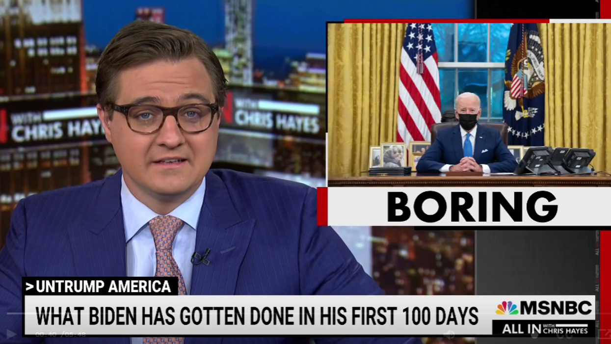 'Ticking every box': MSNBC's Chris Hayes breaks down how Biden managed to succeed where Trump failed miserably