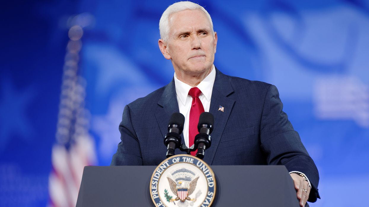 'That's the plan': Pence offers delusional response to MAGA crowd chanting 'four more years'