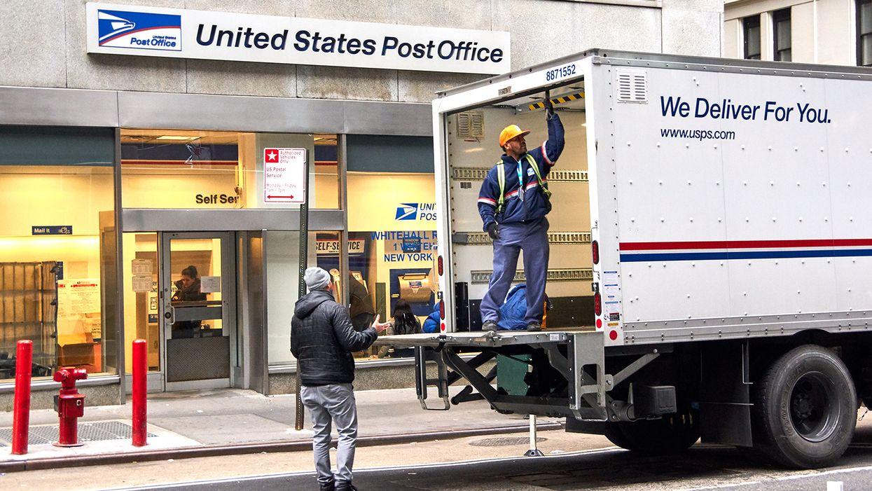 USPS faces 'unprecedented' package delays amid chaotic holiday season
