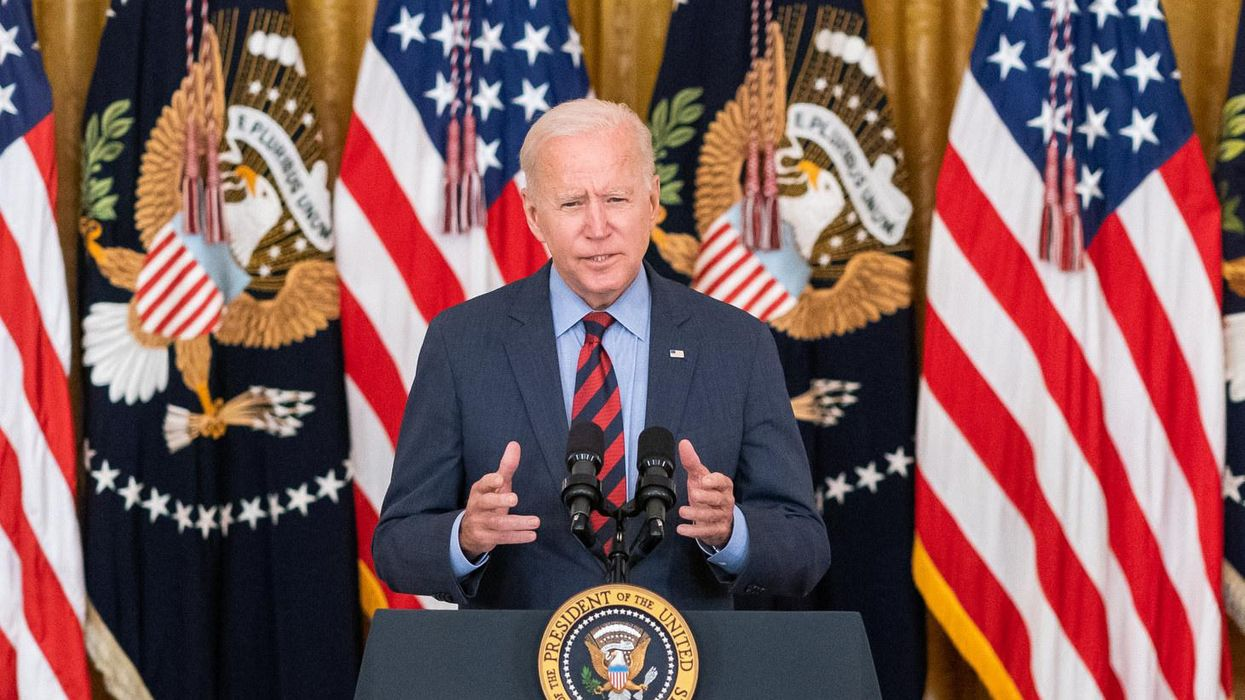 Biden had the perfect response to GOP governors calling vaccine mandates 'tyranny'