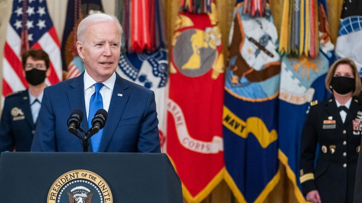 Public health coalition urges Biden to create vaccine 'manufacturing operation for the world'