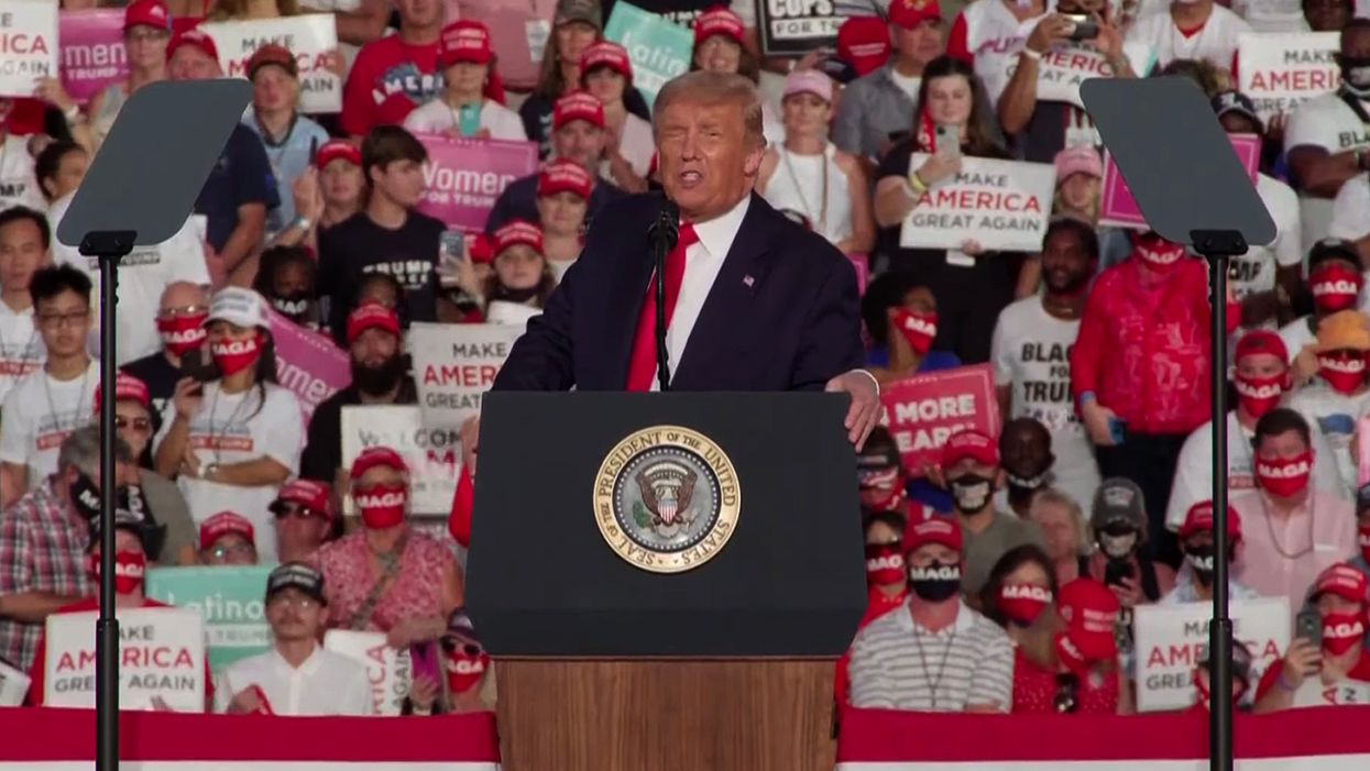 Trump's daily rallies reveal the staggering number of battleground states in play this election: analysis