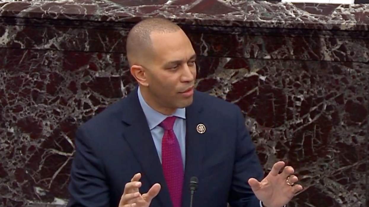 Top House Democrat unleashes fury on the GOP over voting rights