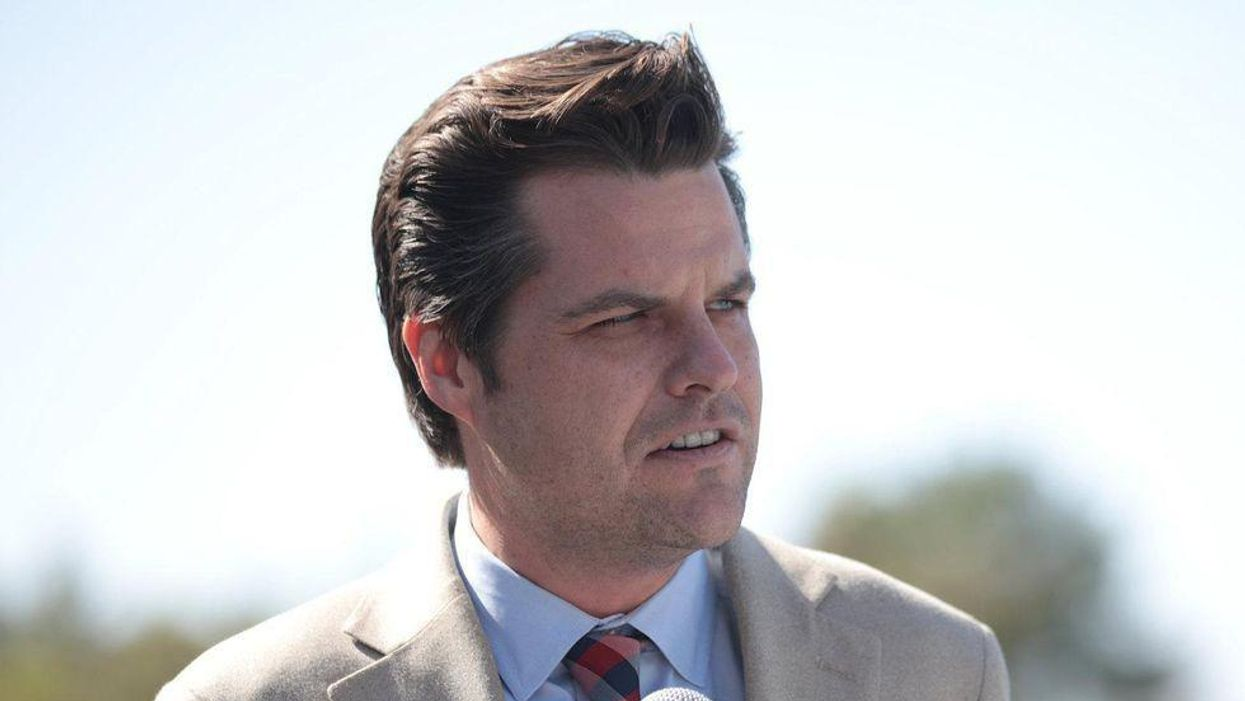 Matt Gaetz provokes horror by openly embracing Tucker Carlson's white supremacist 'replacement theory'