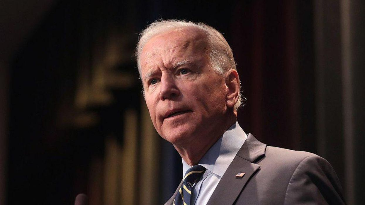 President Biden had two vulgar words to say when he first encountered one of Trump's 'toys' in the White House
