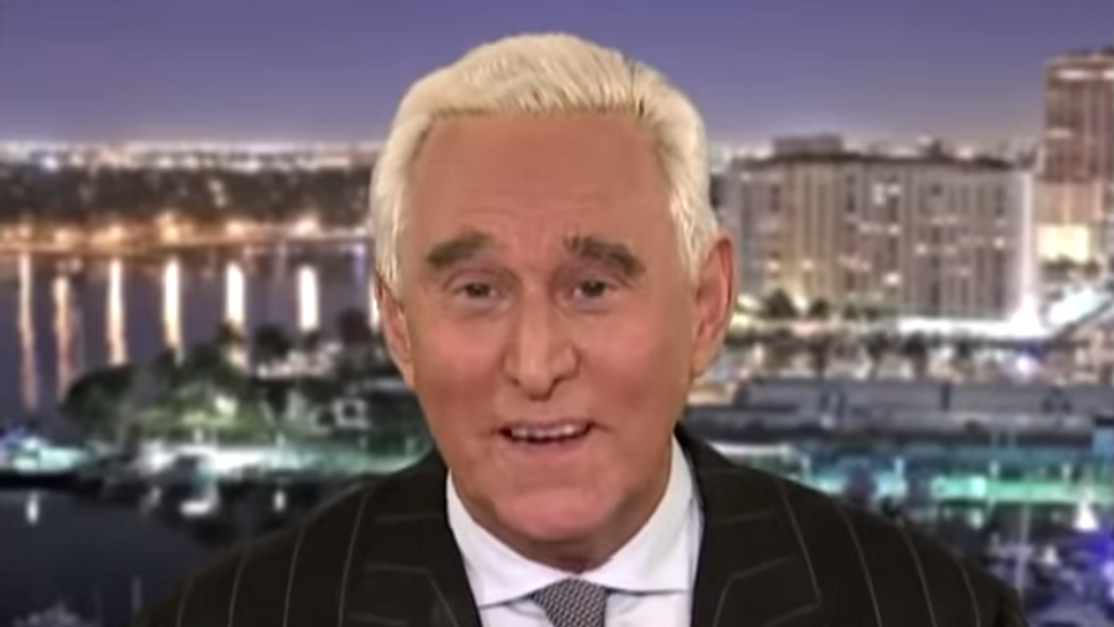 Roger Stone interrupted during radio interview to get served papers for Capitol riot lawsuit