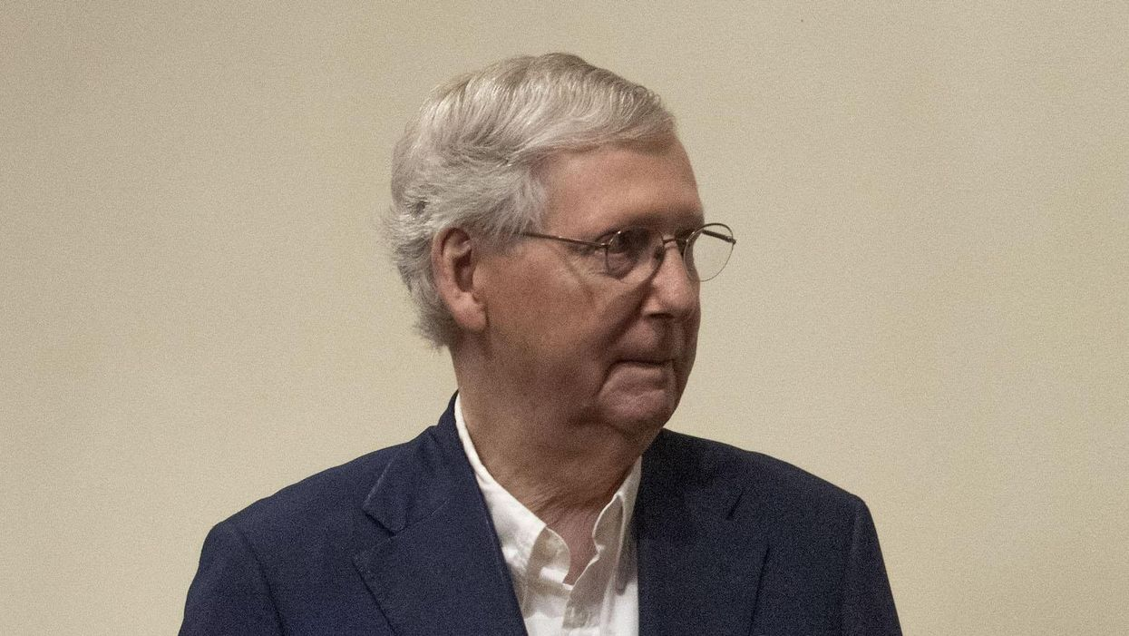 The party of sabotage: Mitch McConnell leads Republicans to vote against the United States