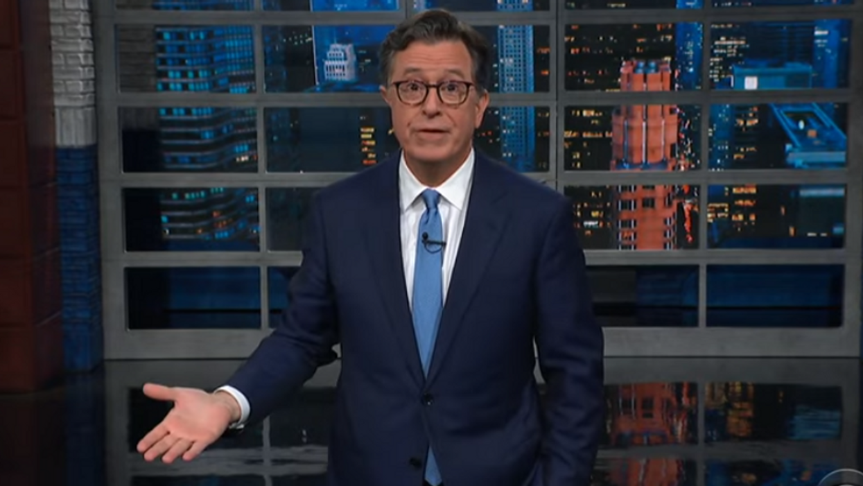 Colbert has a piece of advice for Trump ahead of the upcoming 'Justice for J6' rally at the US Capitol