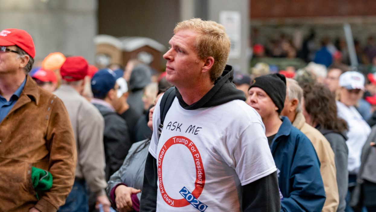 'It's over and nothing makes sense: QAnon believers struggle to cope with Biden inauguration