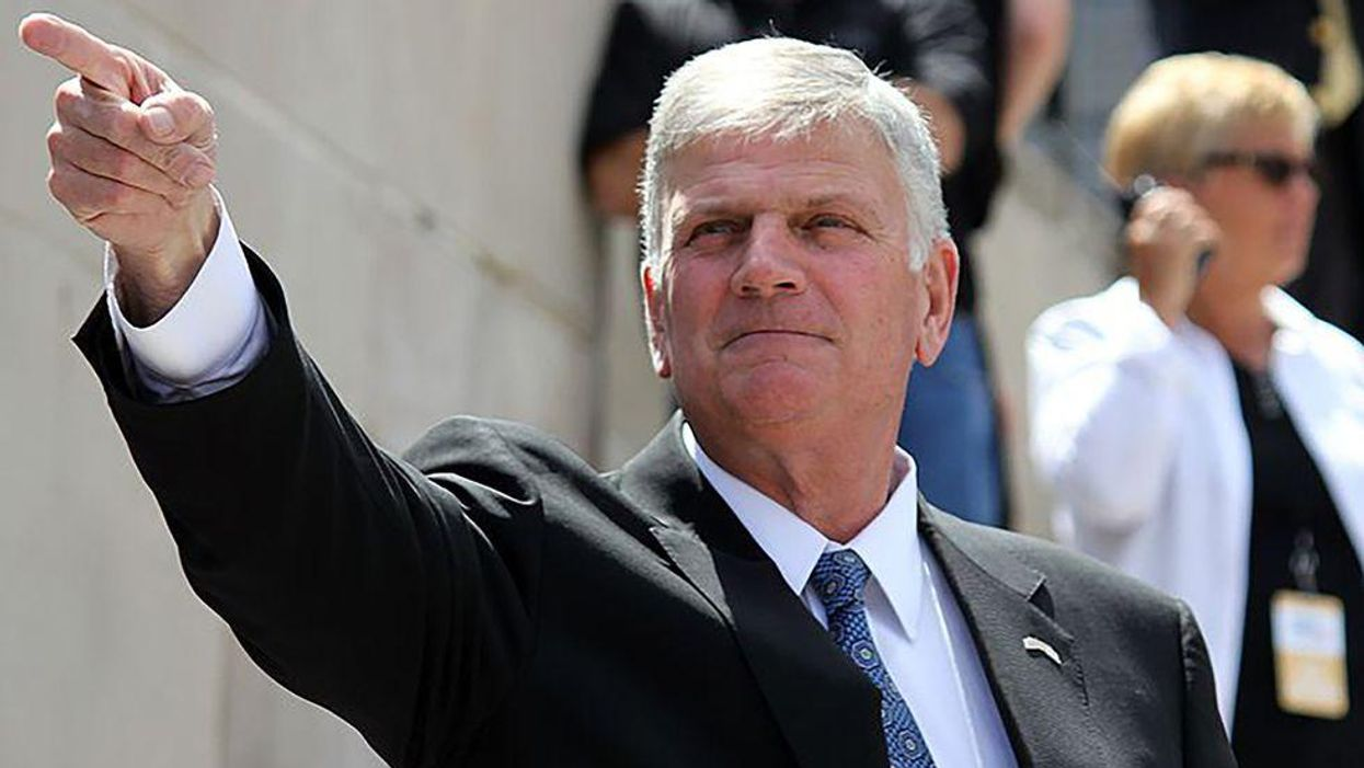 Franklin Graham urges school boards to fight the 'godless socialist agenda' of CRT