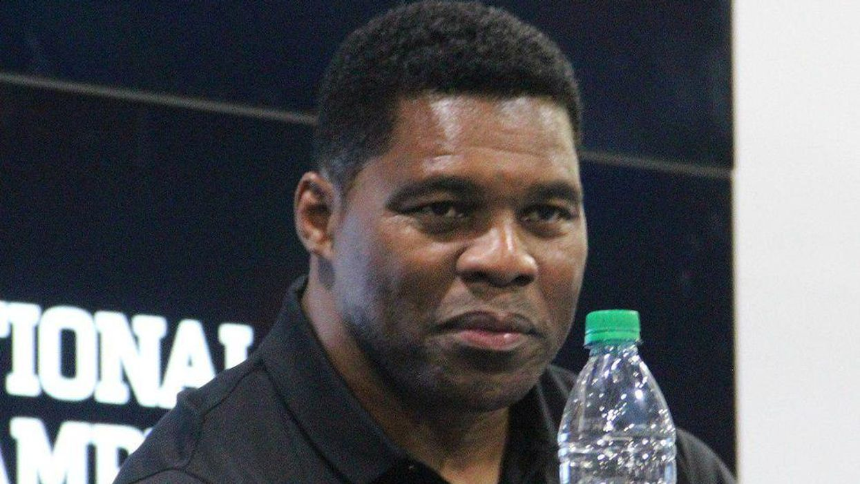 Trump-backed Herschel Walker cancels fundraiser with supporter over 'very offensive' swastika Twitter avatar