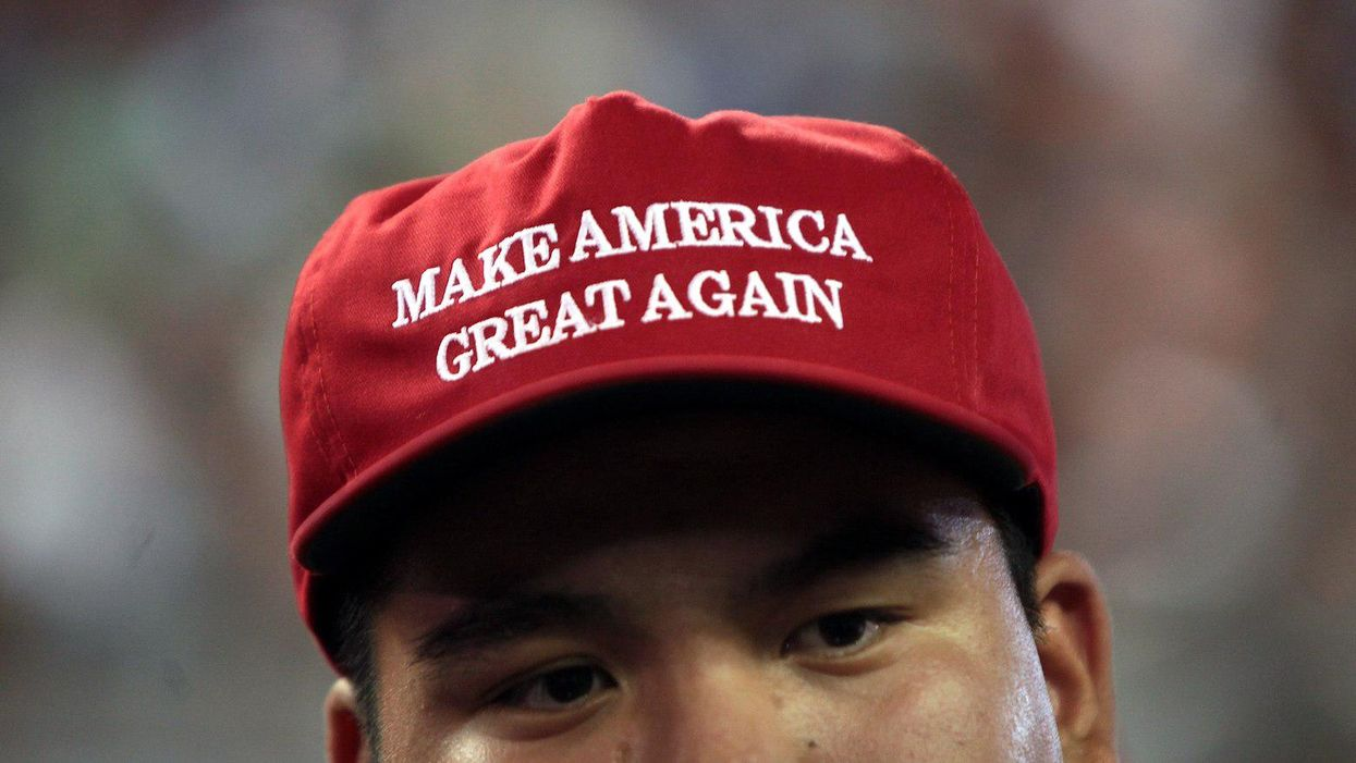 trump hat maga supporter fan voter