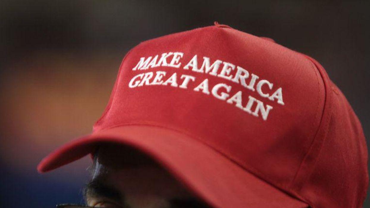 Trump supporter voter hat