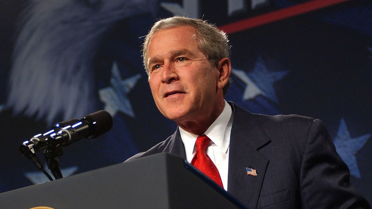 George W. Bush meets with Never Trumpers to discuss post-Trump GOP