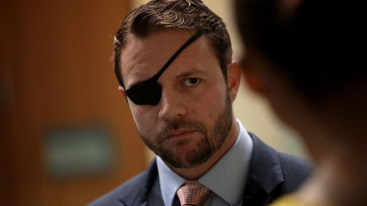 Dan Crenshaw recklessly tells Americans to rail against COVID mitigation guidelines as cases soar across the country